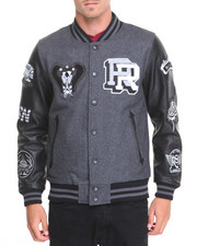 Men - KING COBRA VARSITY JACKET