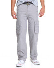 Men - Basic Twill Cargo Pants