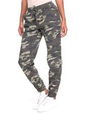 Pants - Smocked Camo Jogger