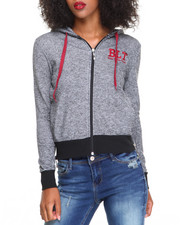 Women - French Terry Full Zip Hoodie