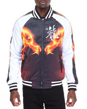Outerwear - Fire Dragon Souvenir Jacket