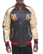 Outerwear - Japan - Style Poly - Satin Souvenir Jacket