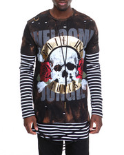 Men - Printed L/S T-Shirt
