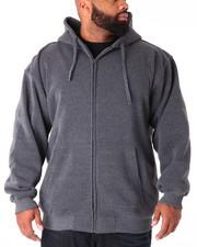 Men - Basic Zip - Up Fleece Hoodie (B&T)