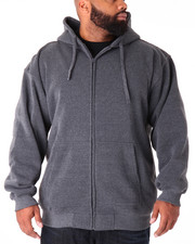 Basic Essentials - Basic Zip - Up Fleece Hoodie (B&T)