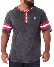 Shirts - Printed Stripe Henley (B&T)