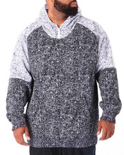 Hoodies - Asphalt - Print Poly Fleece Pullover Hoodie (B&T)