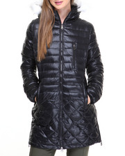 Fashion Lab - Aurora Quilted Heavy Bubble Jacket