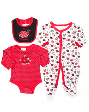 Infant & Newborn - 3 PC LADYBUG SLEEP & PLAY SET (NEWBORN)