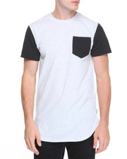Shirts - Quilted Colorblock Tee