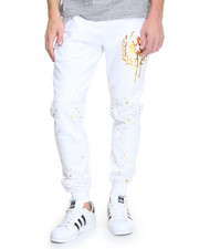 Pants - Crown Splatter Jogger