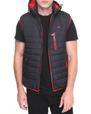 Outerwear - Trailer Sleeveless Contrast Bubble Vest
