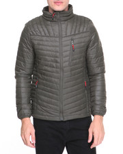 Outerwear - Garnet Quilted Bubble Jacket