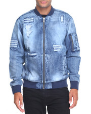 Outerwear - MA 1 Denim Jacket