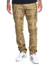 Jeans & Pants - Vintage Americana Signature Moto - Zip Denim Jeans