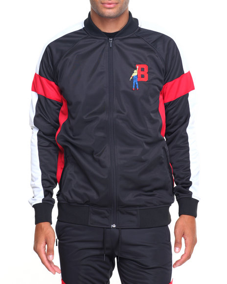 Buy B Vintage Track Suit Jacket Men's Outerwear from Black ...