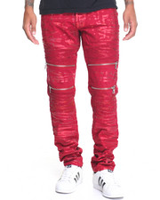 Men - Vintage Americana Signature Moto - Zip Denim Jeans