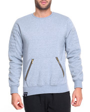 Men - Moto Crewneck Sweatshirt