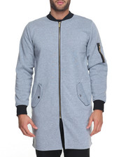 Men - Ma 1 Elongated Contrast Fleece Jacket