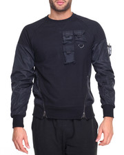 Men - Astro Nylon Trim Sweatshirt