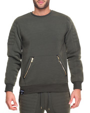 Buyers Picks - Moto Crewneck Sweatshirt