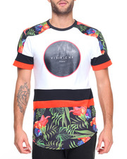 Men - Big Logo Floral S/S Tee