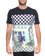 Shirts - Checkered Currency S/S Tee