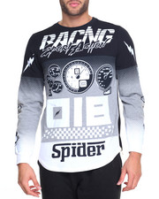 Shirts - L/S Speed Gauge Racing Tee