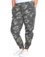 Pants - Destructed Stretch Twill Jogger