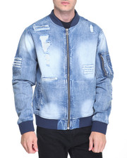 Men - MA 1 Denim Jacket
