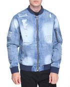 MA 1 Denim Jacket