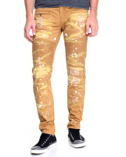 Men - Painted Moto Twill Pants