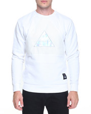 Men - Perforated Insert Crewneck Sweatshirt