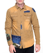 Men - Heckler Camo Twill Buttondown