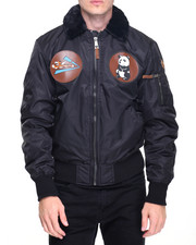 The Classic Bomber Jacket - Top Gun Flying Tigers Nylon Bomber Jacket