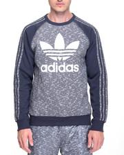 Adidas - ESSENTIAL A O P CREWNECK SWEATSHIRT