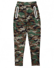 Sizes 8-20 - Big Kids - CAMO REFLECTIVE TECH FLEECE JOGGERS (8-20)