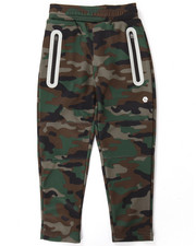 Boys - CAMO REFLECTIVE TECH FLEECE JOGGERS (4-7)