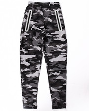 Boys - CAMO REFLECTIVE TECH FLEECE JOGGERS (8-20)