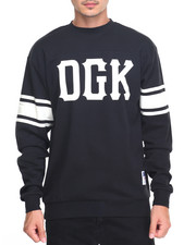 DGK - Inning Custom L/S Crew Knit Jersey