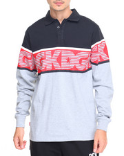DGK - Downtown Custom L/S Knit Polo