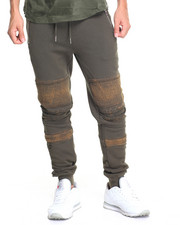 Men - Biker French Terry Joggers