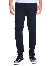 Men - Distressed Biker Skinny Jean