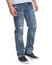 Men - Dirty Rip and Repair Denim