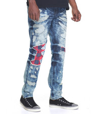 Men - Robertson Ripped Denim Jeans