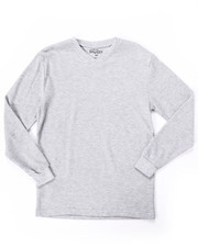 Sizes 8-20 - Big Kids - L/S V-NECK THERMAL (8-20)