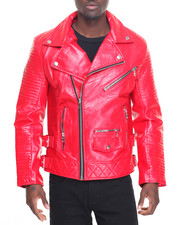 Buyers Picks - Faux Leather Biker Jacket