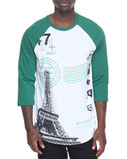 LRG - Elevated Eiffel 3/4 Raglan