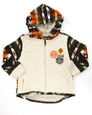 Hoodies - AZTEC FULL ZIP HOODY (2T-4T)