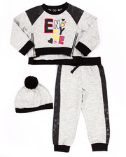 Sets - MELANGE JOGGER SET (2T-4T)